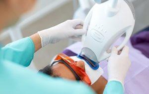 In-Chair Teeth Whitening