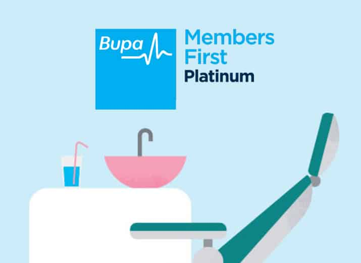 Bupa Members First Platinum dental cover