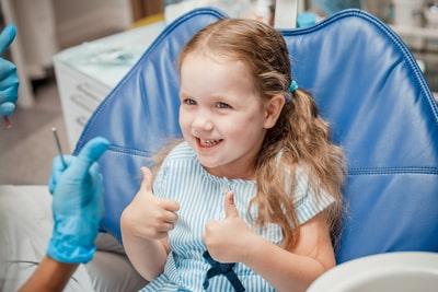 visiting dentist caring child autism