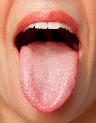 should use tongue scraper