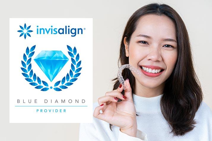 Blue Diamond Invisalign Provider Smile Solutions